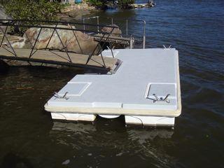 pontoons for floating homes